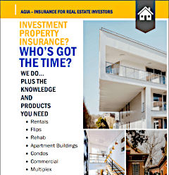 Real Estate Investors flyer